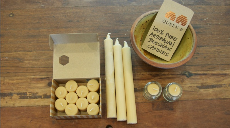 100% Pure Australian Beeswax Candles