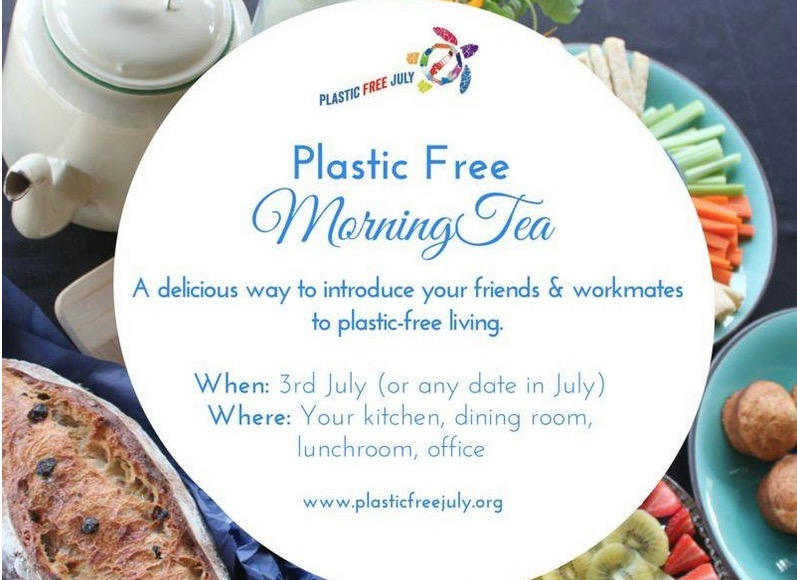 Morning Tea at the MFC: Kick off Plastic-Free July