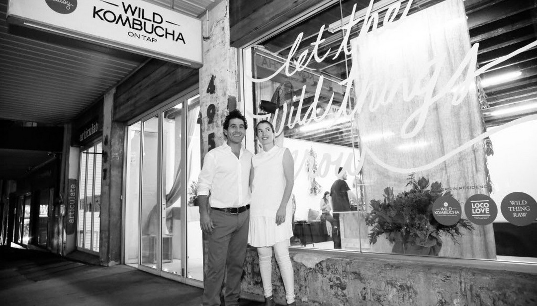 An Evening With Wild Kombucha Founders Lara & Matt