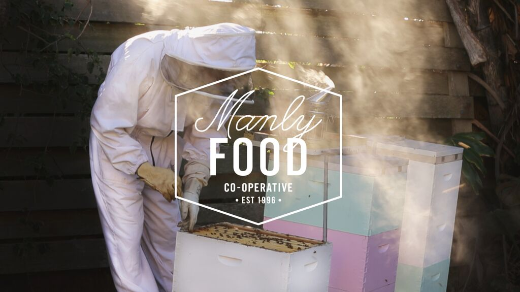 Manly bees make heavenly honey for the Co-Op.