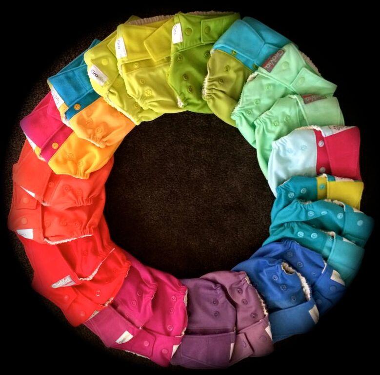 Modern Cloth Nappy Range