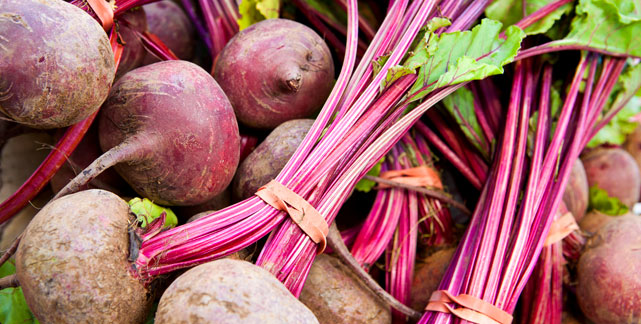 Follow us on social media and never miss a beat (or a beet)