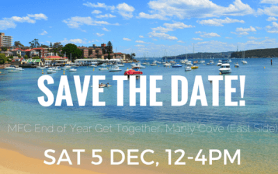 SAVE THE DATE!  Join us for our end-of-year picnic on Dec 5.