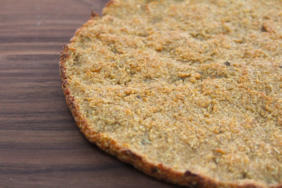 Crispy Gluten Free Quinoa Pizza Base Manly Food Co Operative