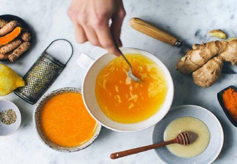 Hot Lemon, Ginger, Turmeric & Honey – Warming, Anti-Inflammatory Drink