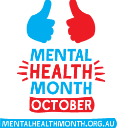 Join our events during October – Mental Health Month