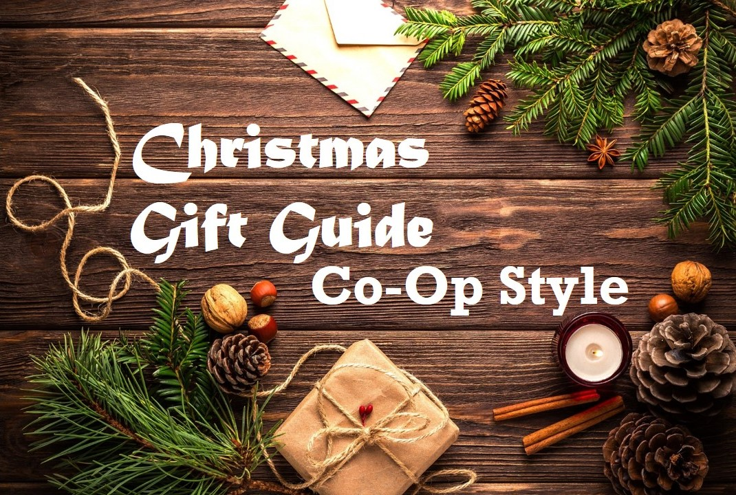 Christmas Gift Guide Co-Op Style – Part I