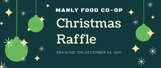 Manly Food Co-Op's Christmas Raffle