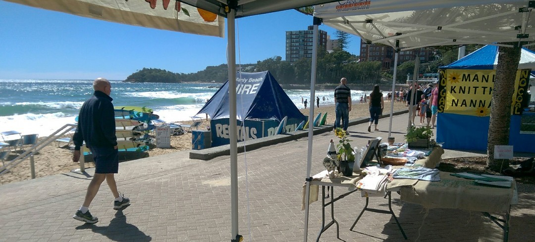 Manly beach front