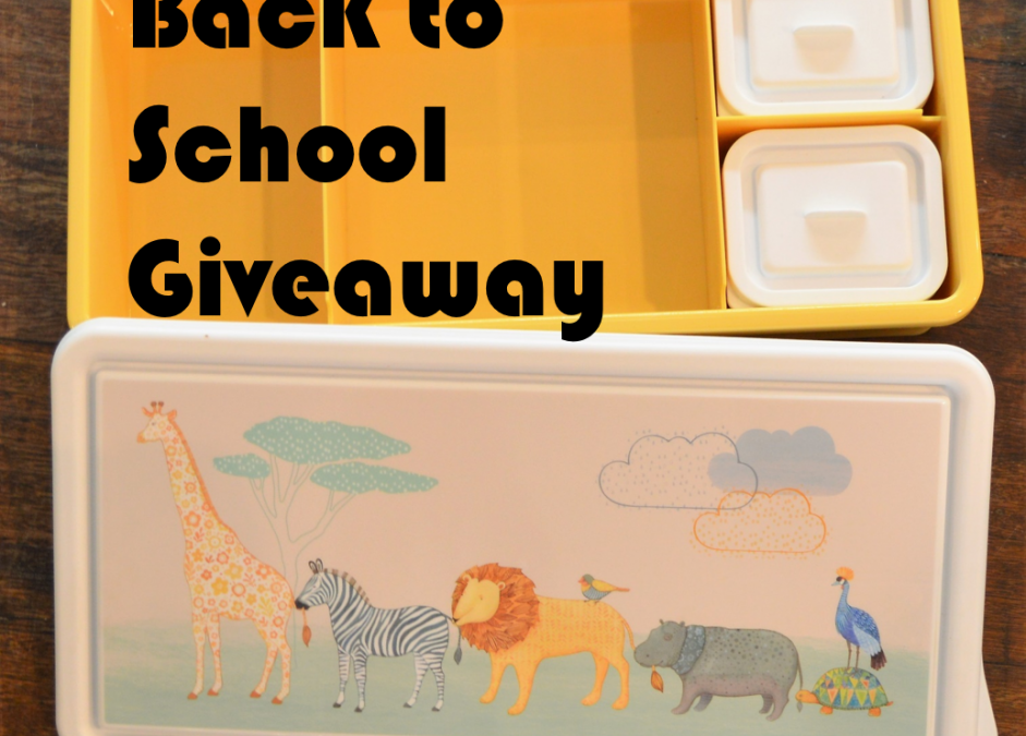 Back to School Giveaway – Enter for your chance to win a Love Mae lunchbox