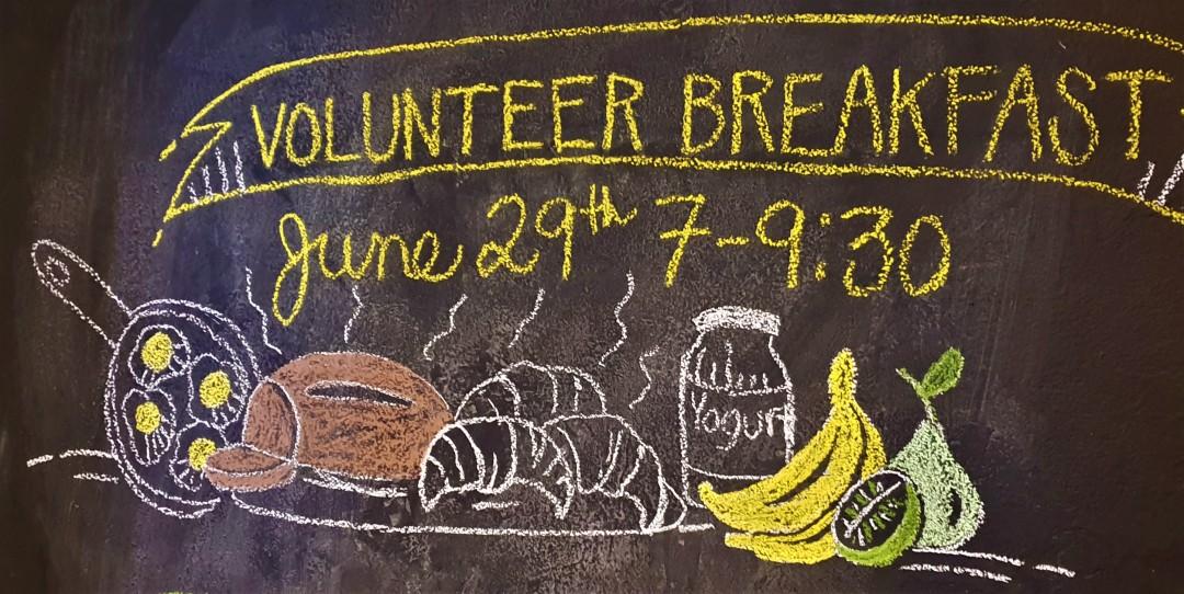 Co-Op Volunteers Breakfast
