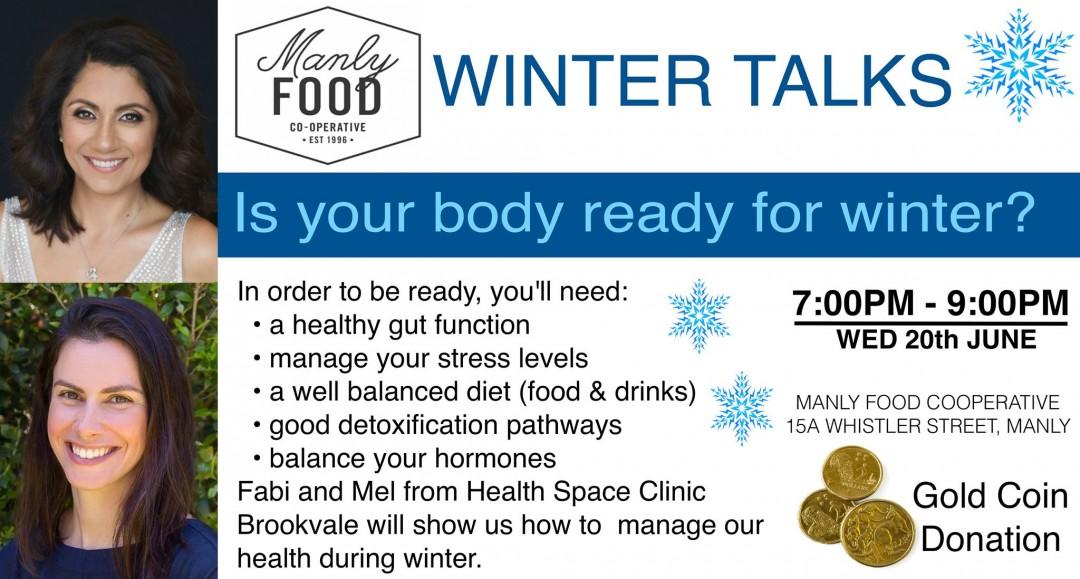 Winter Immunity Talk