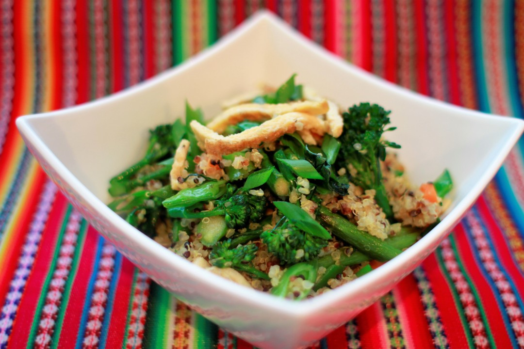 Andean Fried Rice Recipe