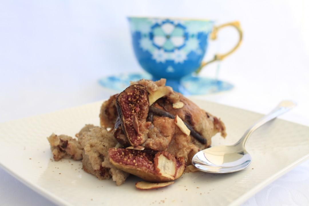 Hot Cross Bun Pudding with Figs Recipe