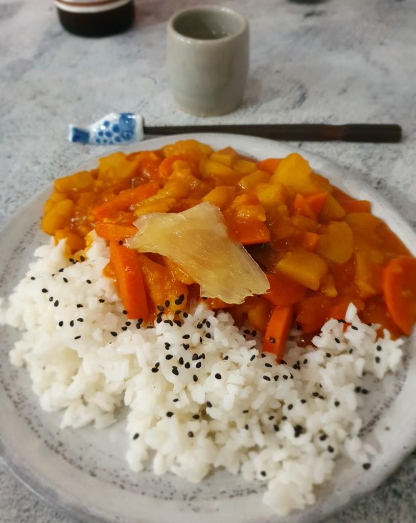 Japanese Veggie Curry Recipe