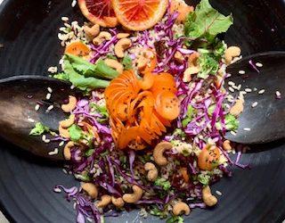 Cashew Colour Crunch Salad
