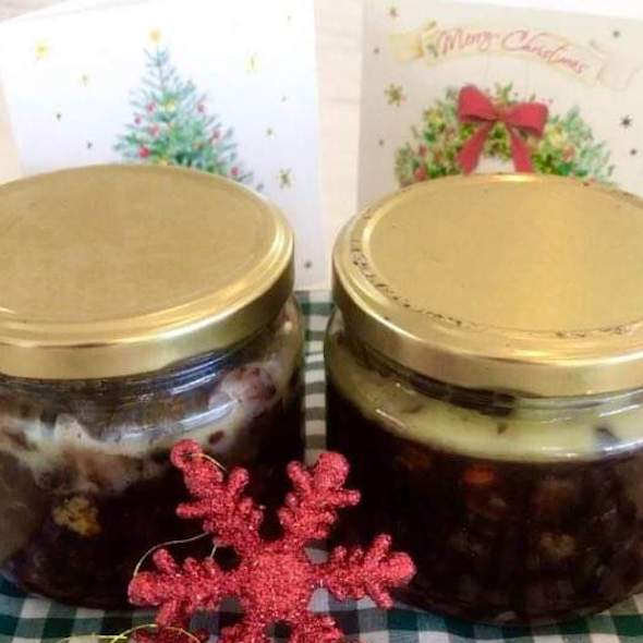 mincemeat in jars