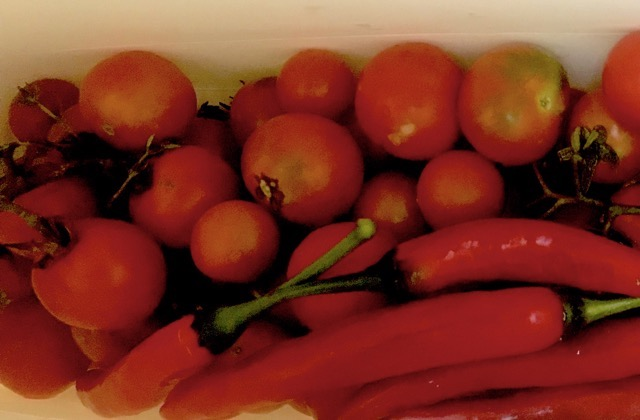 tomatoes and chilli
