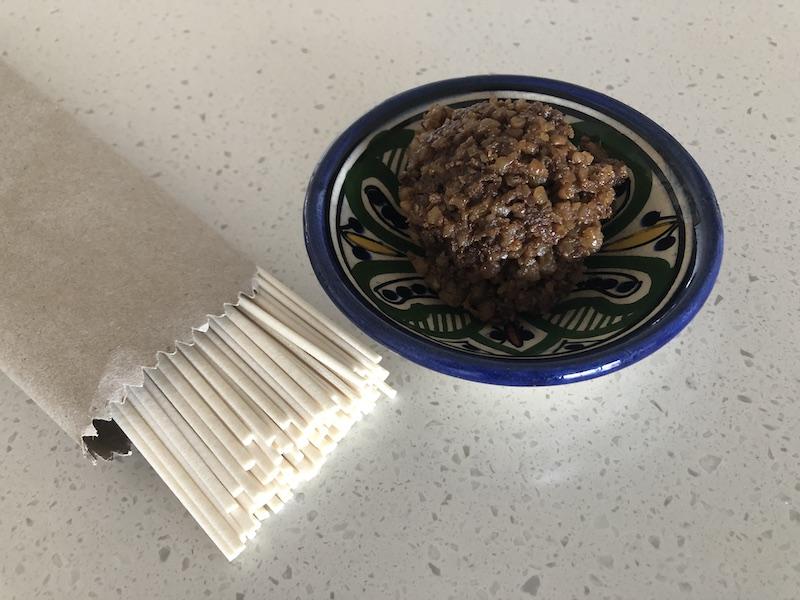 walnut miso and udon